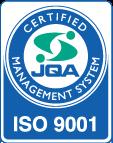 株式会社アカシック 品質管理基準 ISO9001マーク